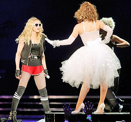 madonna sticky & sweet tour 2008 shes not me
