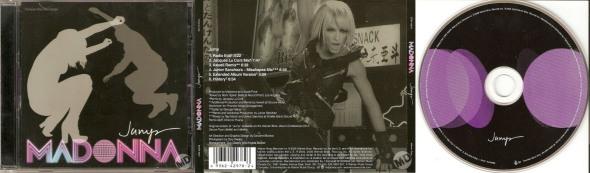 MADONNA JUMP CD MAXI SINGLE 6 CANADA