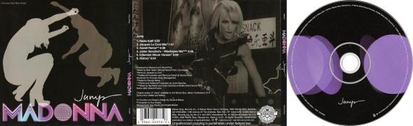 madonna jump cd maxi single USA MEXICO