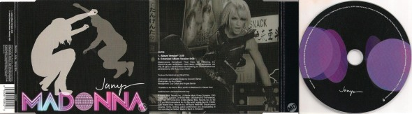 madonna jump cd single UK 2