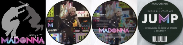 madonna jump single 12 inch australia 3 picture disc