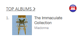immaculate collection cambodia itunes