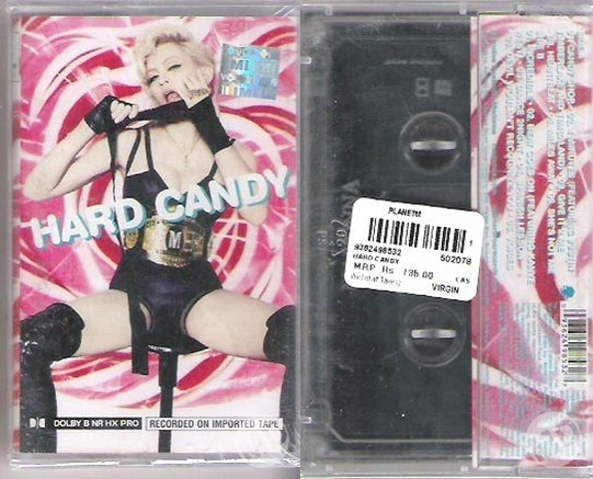 madonna hard candy cassette india