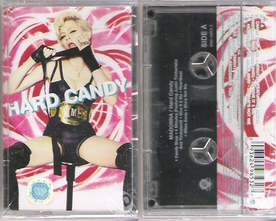 madonna hard candy cassette indonesia