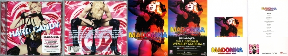 madonna hard candy promo cd UK
