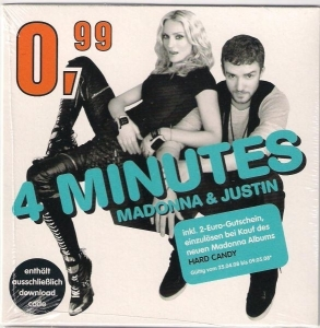 madonna & justin timberlake 4 minutes digital download germany