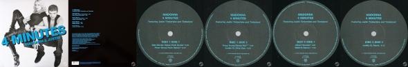 madonna 4 minutes vinyl single usa
