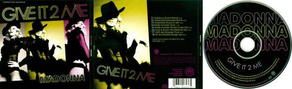 madonna give it 2 me cd maxi single usa